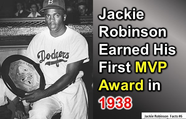 facts about jackie robinson