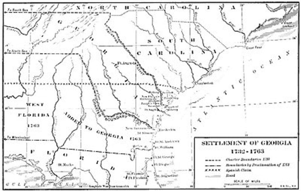 Settlement_of_Georgia_Colony_1732-1763