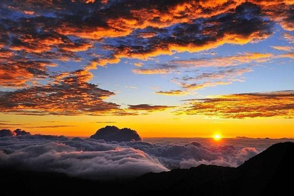 Haleakala Volcanosunset