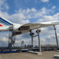 facts about the concorde air france model