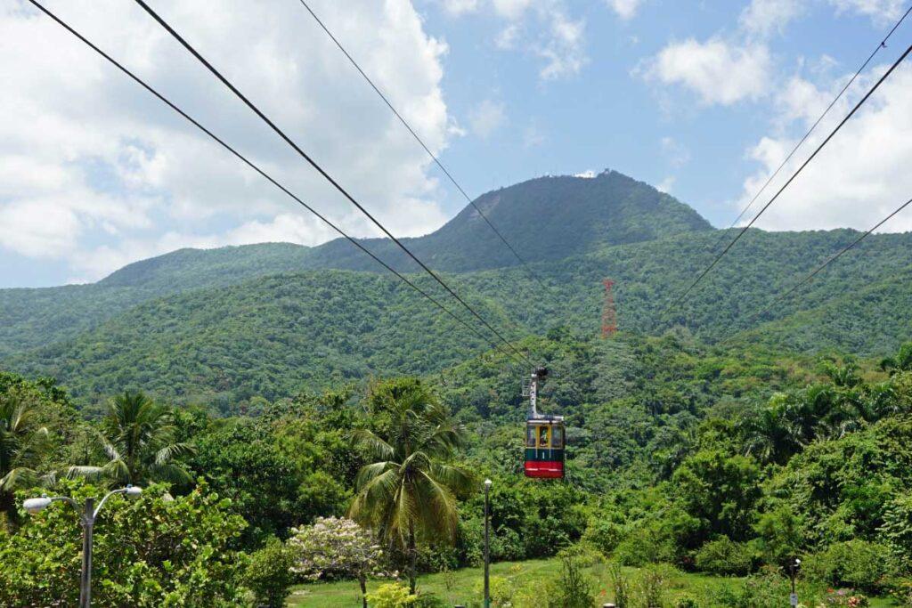 cable car in dominican republic