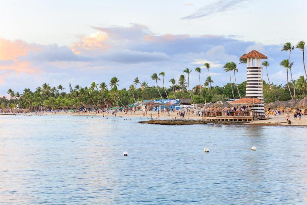 dominican republic seaside