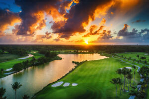 golf course in dominican republic
