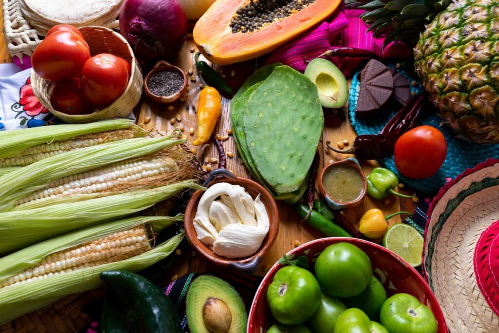 ingredients for mexican food interesting facts about mexico